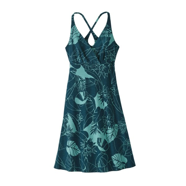 Patagonia Amer Dawn Dress Damen Kleid grün