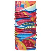 Buff High UV Junior Colourful Mountains Multi Kinder Multifunktionstuch bunt