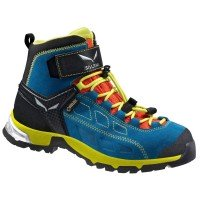 Salewa Alp Player Mid GTX Junior Kinder Wanderschuhe blau