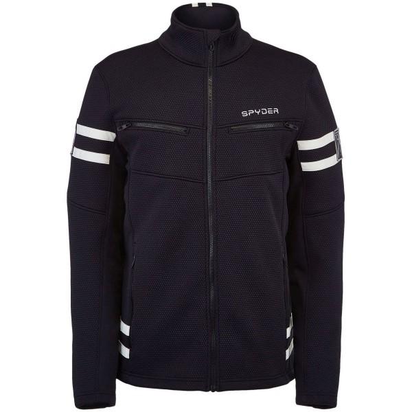 Spyder Wengen Encore Full Zipp Fleece Jacket Fleecejacke schwarz