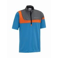 Gonso Tobi Kinder Bike Shirt blau orange grau