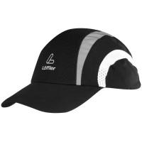Löffler Sportkappe Schildmütze schwarz