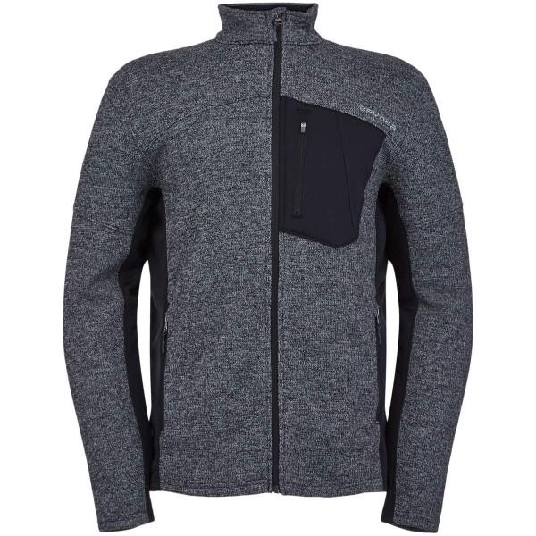 Spyder Bandit Full Zip Jacket Fleecejacke schwarz grau