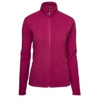North Bend Sub Microfleece Damen Fleecejacke rot