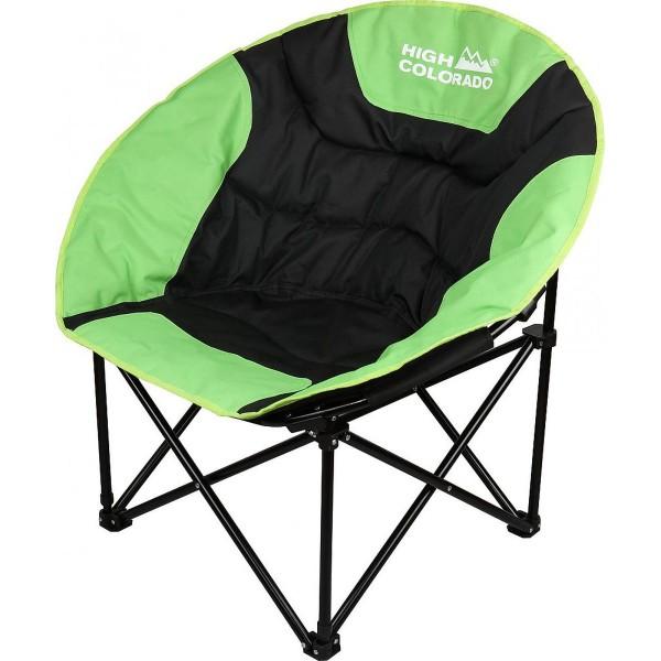 High Colorado Chillmoon Camping Stuhl schwarz grün