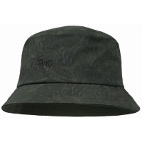 Buff Trek Bucket Hat Checkboard Hut grün