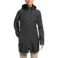 Maier Sports Torsby Coat Damen Mantel schwarz