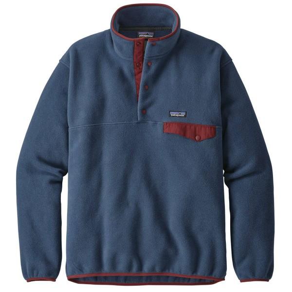 Patagonia Lightweight Synchilla Snap-T Fleecepullover blau
