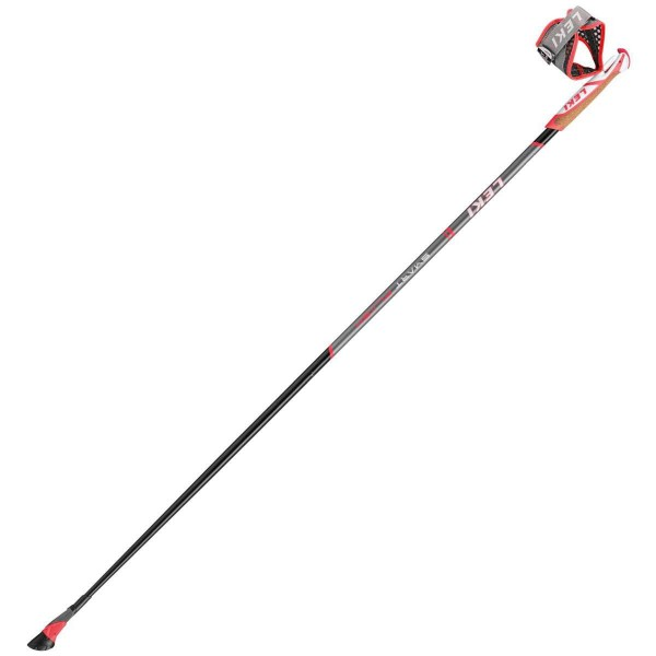 Leki Smart Flash Nordic Walking Stöcke schwarz