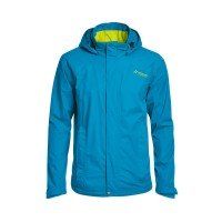 Maier Sports Metor Outdoorjacke im Set mit Polo-Shirt hellblau