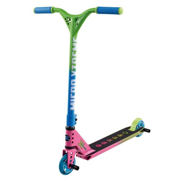 Micro MX Trixx 2.0 Rainbow green Stunt Scooter
