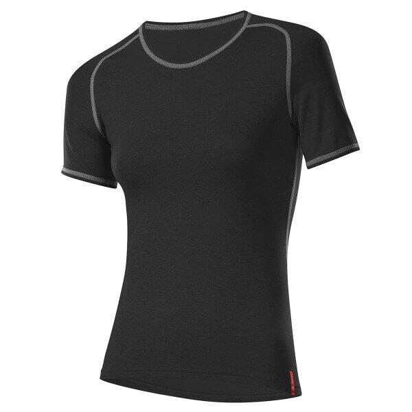 Löffler Shirt kurzarm Transtex warm Damen Funktionsunterwäsche schwarz