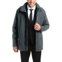 Maier Sports Job Jacket Herrenjacke grau