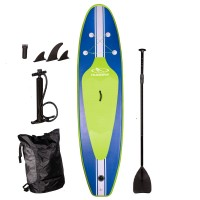 Hudora SUP Stand Up Paddle aufblasbar Glide 320