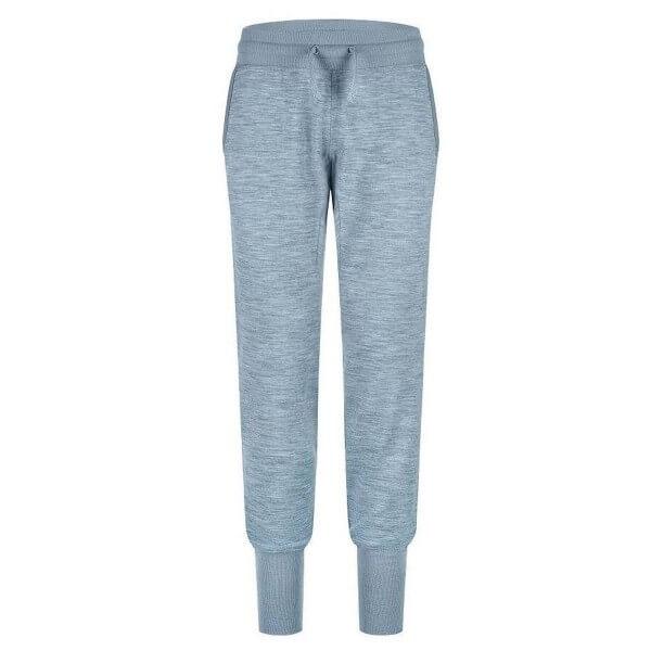Super.Natural Essential Cuffed Pant Damen Merino Jogginghose hellblau