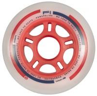 Powerslide F1 Inline Skates Rollen Set 8 Stück 90mm rot