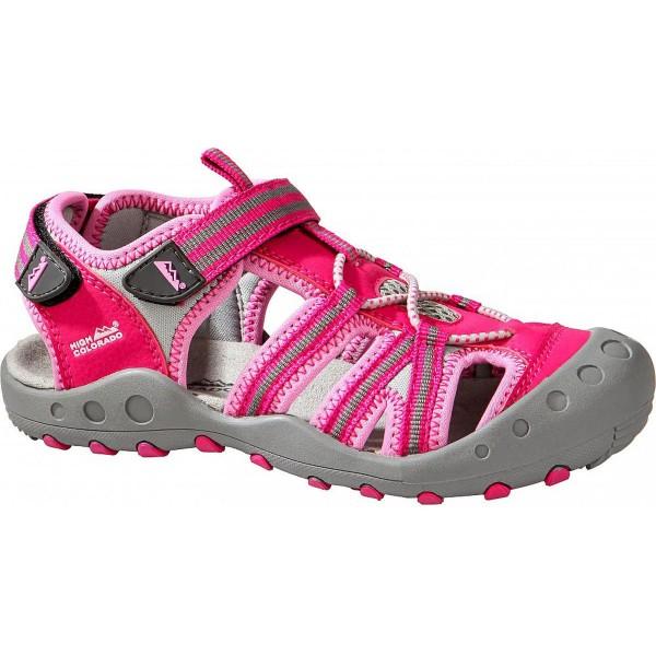High Colorado Lido Kids Kinder Trekkingsandale pink