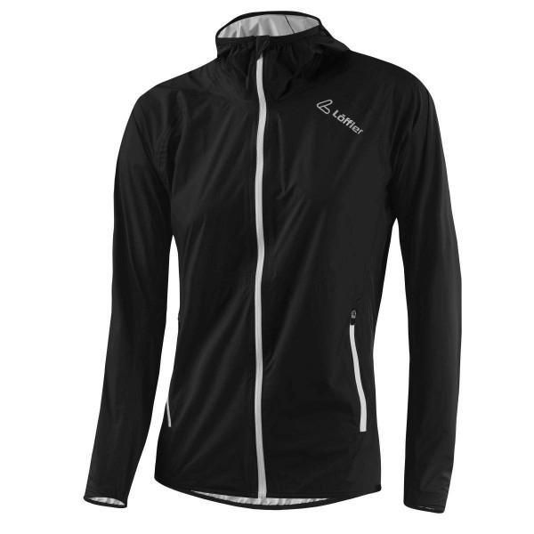 Löffler W Hooded Jacket WPM Pocket Damen Funktionsjacke schwarz