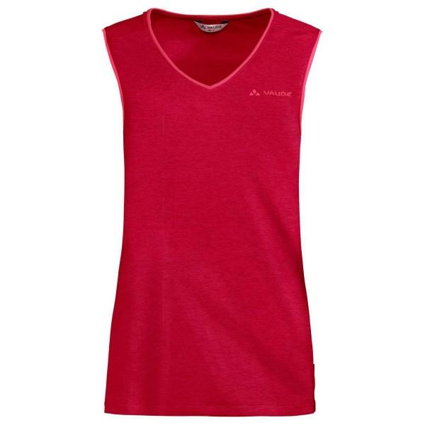 VAUDE Womens Essential Top Damen Funktionsshirt rot