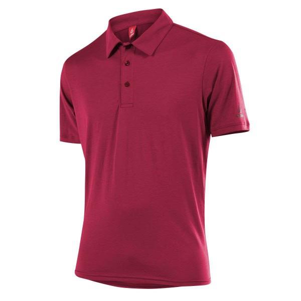 Löffler Poloshirt Transtex Single CF Funktionsshirt rot