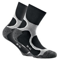 Rohner Basic Running Socks Doppelpack Laufsocken  grau
