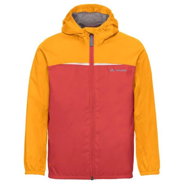 VAUDE Turaco Jacket Kinder leichte Regenjacke orange