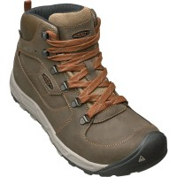 Keen Westward Mid Leather WP Wanderschuhe grün