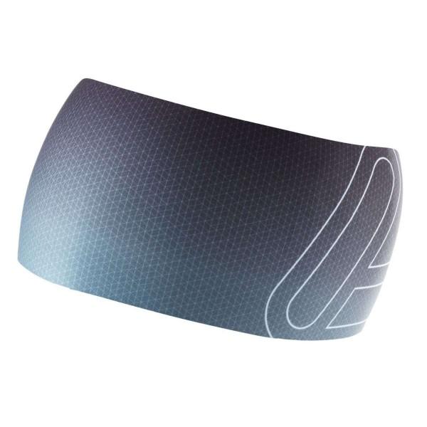 Löffler Elastic Wide Open Cut Stirnband grau