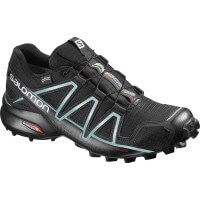 Salomon Speedcross 4  GTX Damen Laufschuhe schwarz