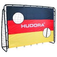 Hudora Fußballtor Match D mit Torwand Deutschland