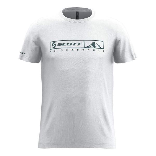 Scott 10 No Shortcuts S/SL T-Shirt weiß