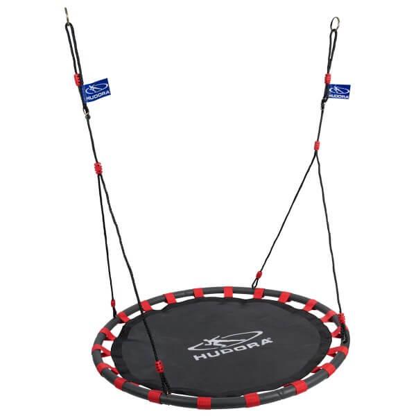 Hudora Alu Nestschaukel Swing 120 rot schwarz