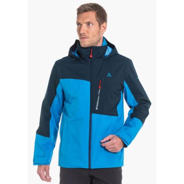 Schöffel Vancouver2 ZipIn Jacket Wanderjacke blau