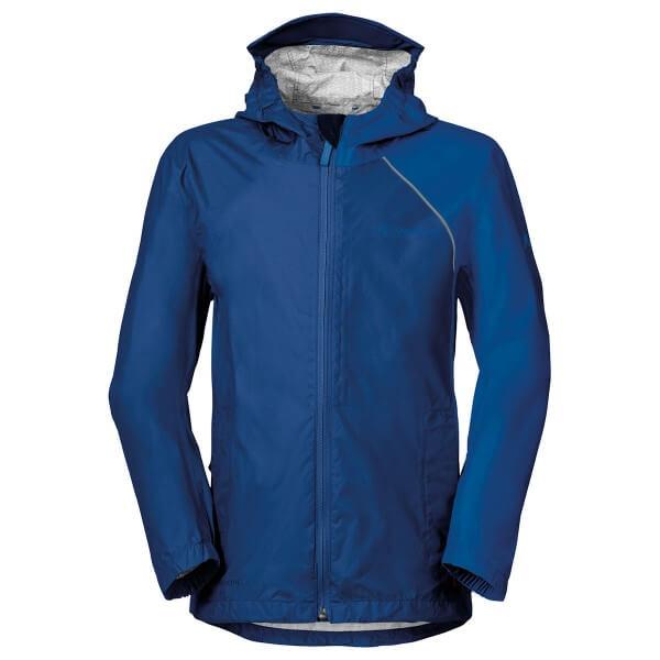 Vaude Kids Grody Jacket III Kinder Regenjacke blau