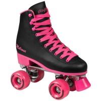 Playlife Quads Damen Rollschuhe schwarz pink