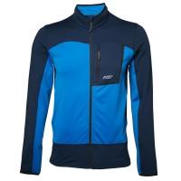 North Bend Nevis Zip Shirt Fleecejacke blau