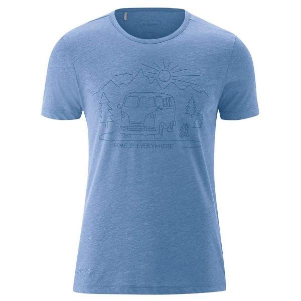Maier Sports Home Shirt Funktionsshirt blau