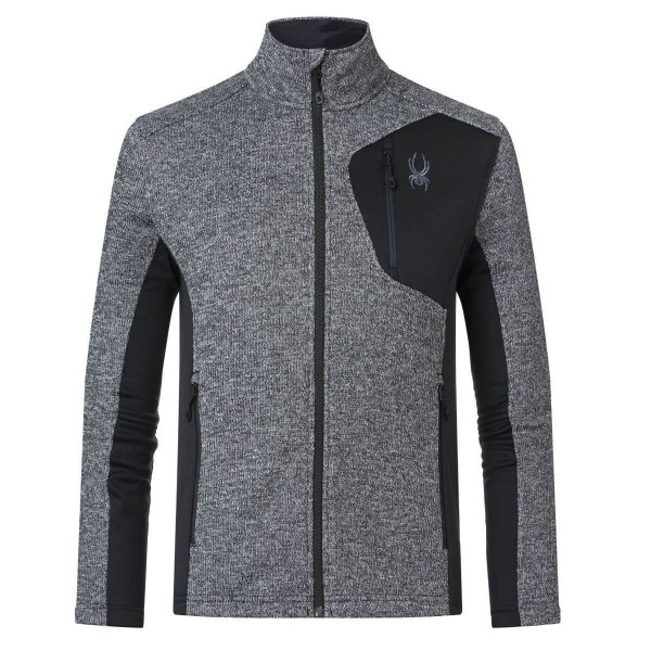 Spyder Bandit Full Zip Jacket Fleecejacke grau