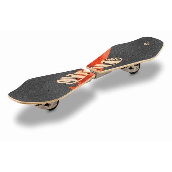 Street Surfing Wooden Waveboard Wave Rider Abstract
