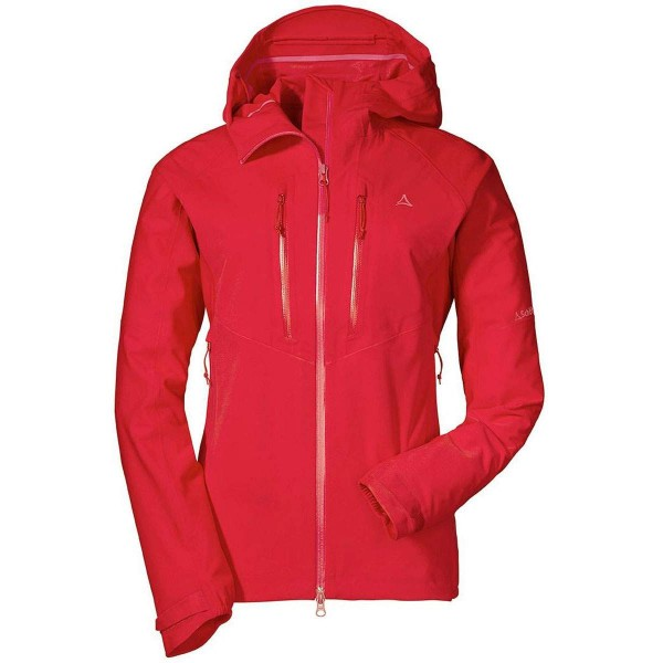 Schöffel Charleroi 3L Jacket Damen Funktionsjacke rot
