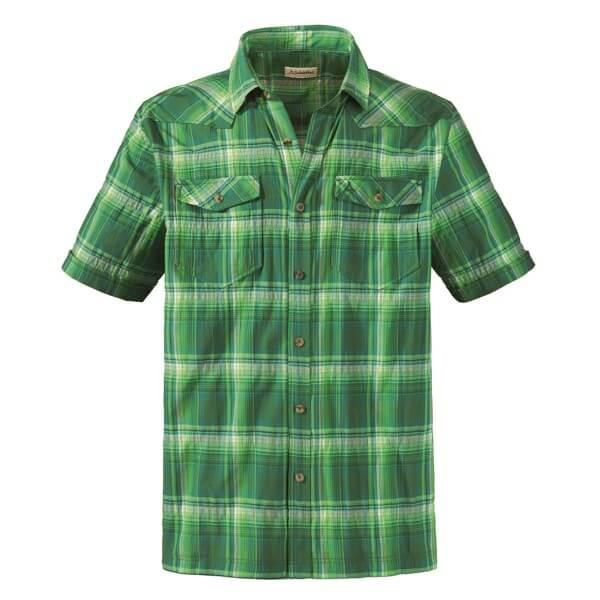 Schöffel Nigel Hemd kariert grün
