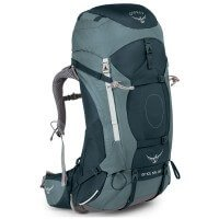 Osprey Ariel 55 Damen Trekkingrucksack Backpacking grau