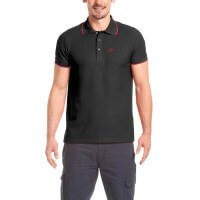 Maier Sports Comfort Polo-Shirt schwarz