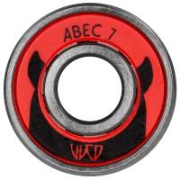 Wicked ABEC 7 Freespin Kugellager für Inline Skates und Boards 1 Stück