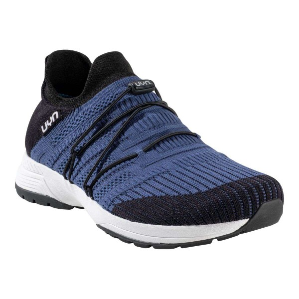 UYN Man Free Flow Tune Shoes Sneaker blau schwarz