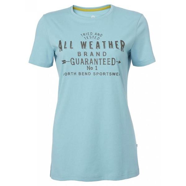 North Bend Vertical Tee Damen T-Shirt blau