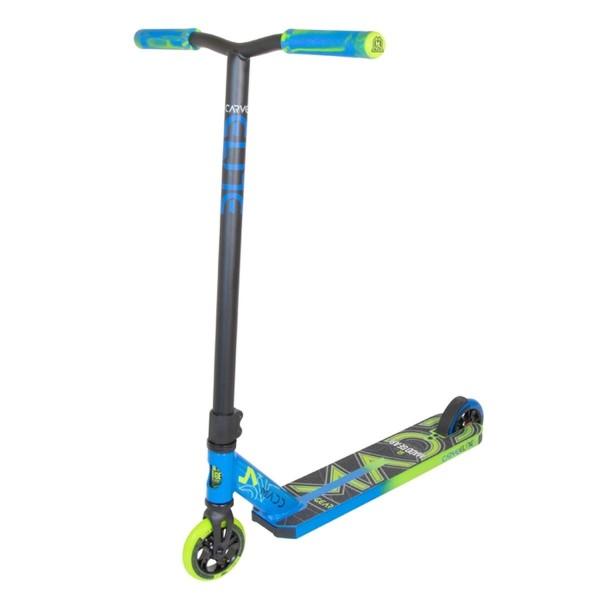 MADD Gear Carve Elite Stuntscooter blau grün 2021