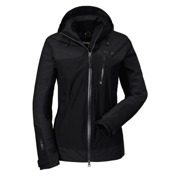 Schöffel Jacket Nagano1 Damen Funktionsjacke schwarz