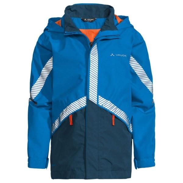VAUDE Kids Luminum Jacket II Kinder Regenjacke blau