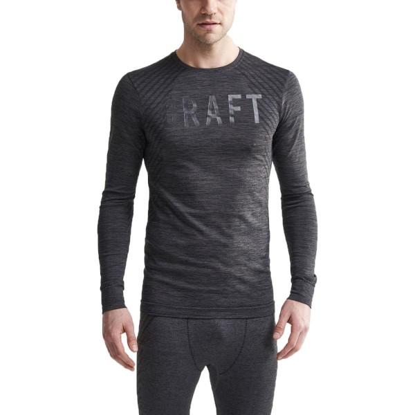 Craft Fuseknit Comfort Langarmshirt schwarz